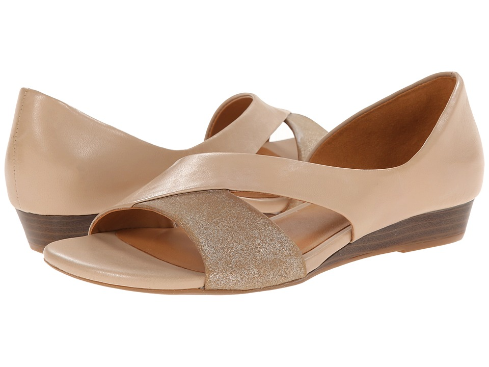 Naturalizer - Jazzy (Tender Taupe Leather/Mocha Metallic) Women