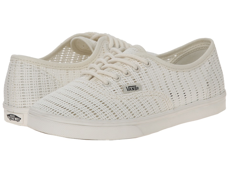 Vans - Authentic Lo Pro ((Mesh) Marshmallow) Skate Shoes
