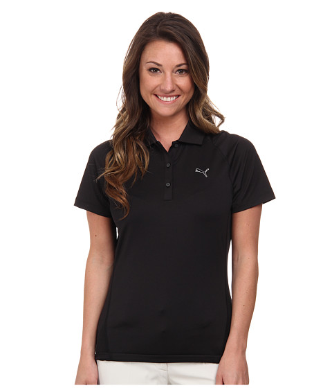 PUMA Golf - Tour Titan Polo (PUMA Black) Women's Short Sleeve Knit