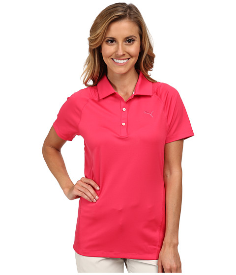 PUMA Golf - Tour Titan Polo (Raspberry) Women