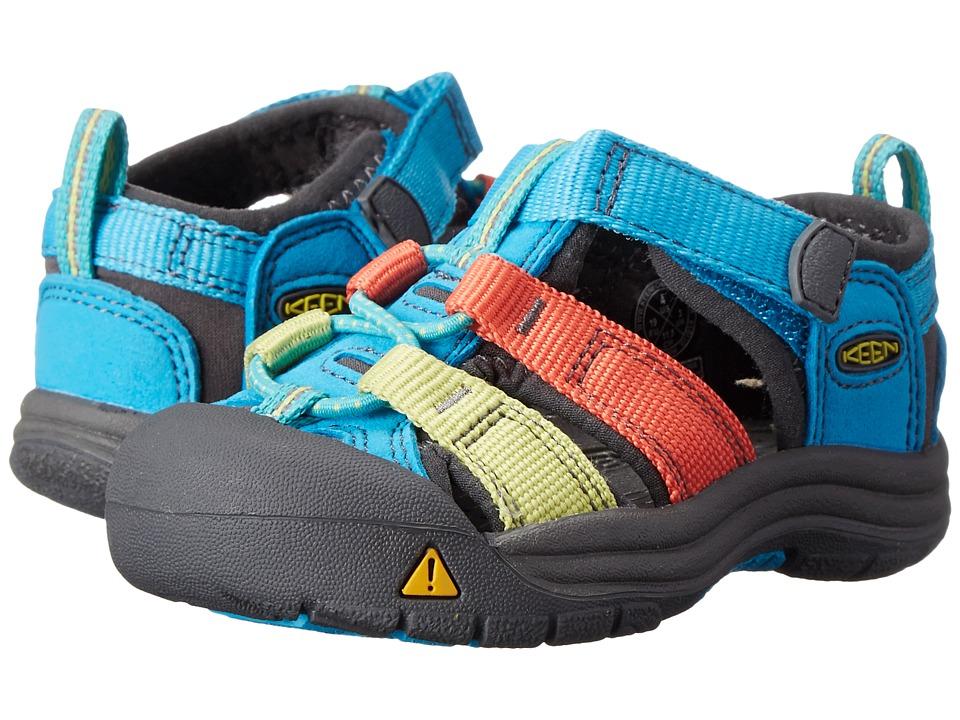 Keen Kids - Newport H2 (Toddler) (Hawaiian Blue Multi) Kids Shoes