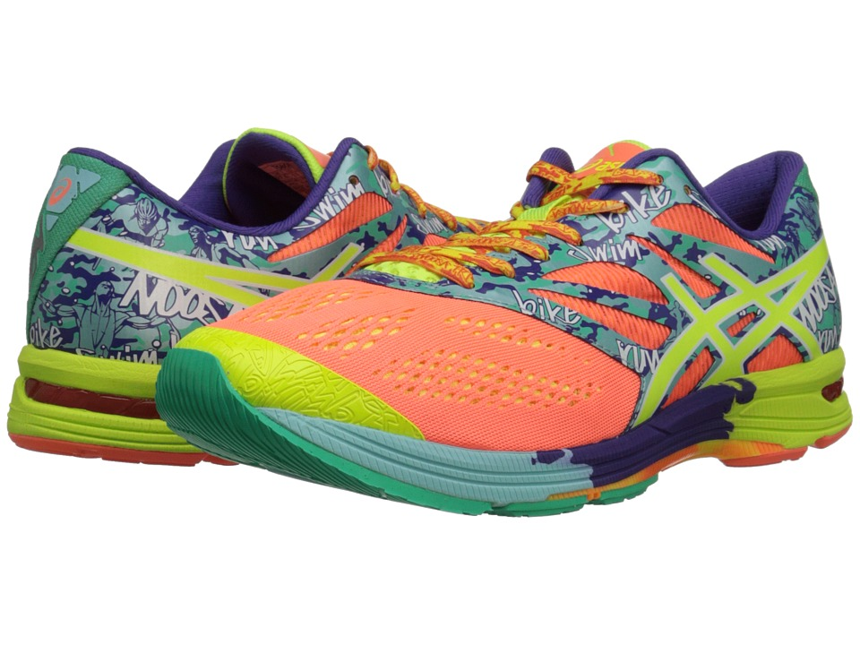 ASICS - GEL-Noosa Tri 10 (Flash Coral/Flash Yellow/Ice Blue) Women's Running Shoes