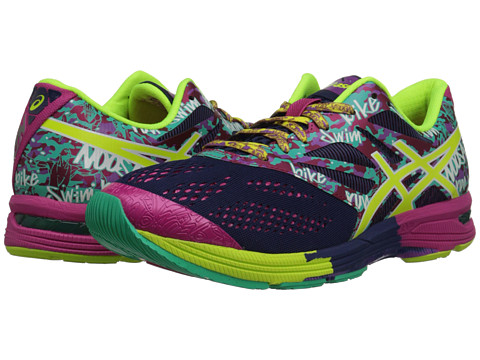 ASICS - GEL-Noosa Tri 10 (Navy/Flash Yellow/Hot Pink) Women