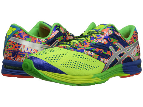 ASICS - Gel-Noosa Tri 10 (Flash Yelow/Lightning/Blue) Men's Running Shoes