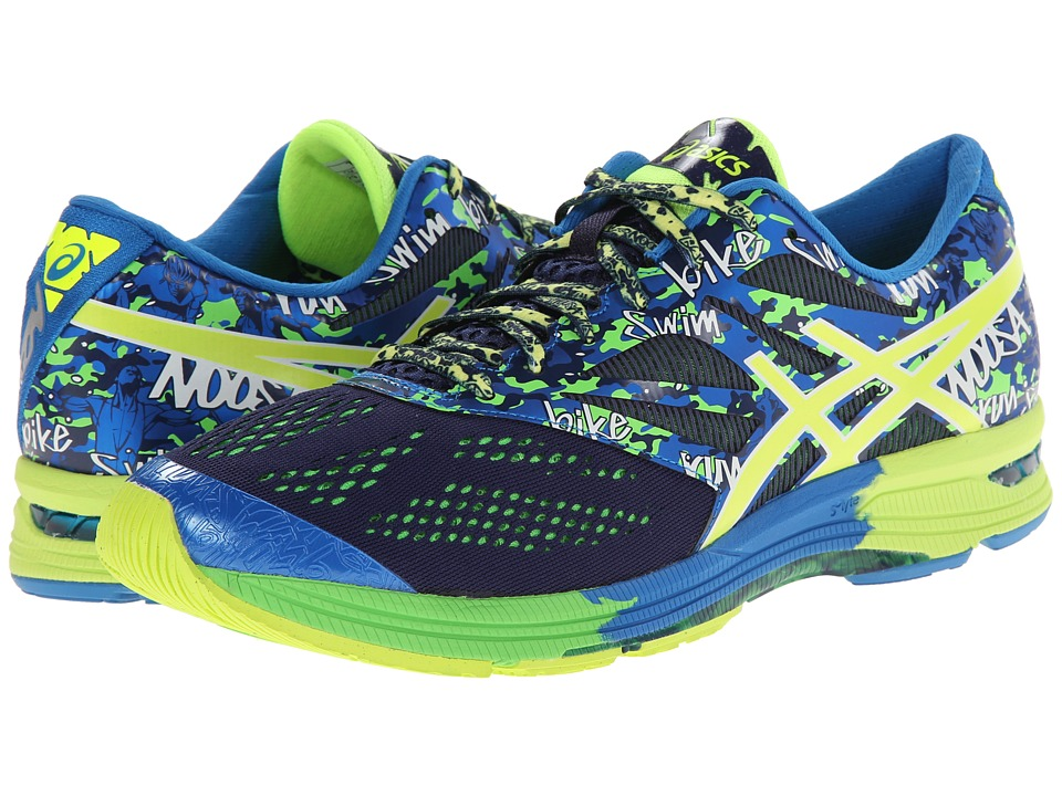 ASICS - Gel-Noosa Tri 10 (Midnight/Flash Yellow/Flash Green) Men's Running Shoes