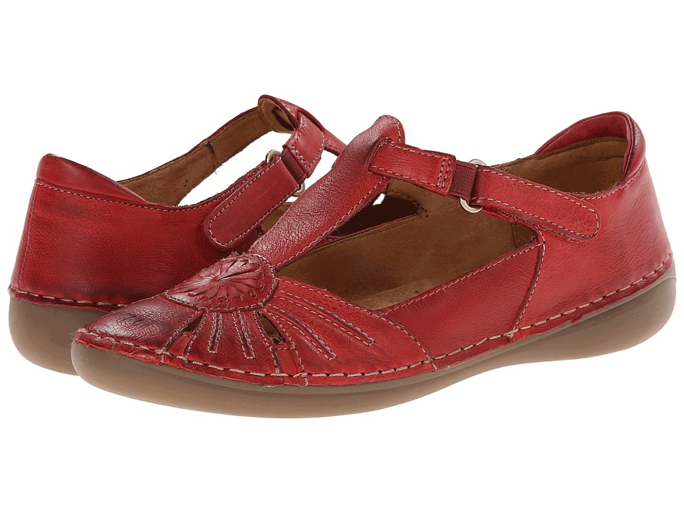 Naturalizer - Kelly (Red Pepper Leather) Women's Slip on Shoes