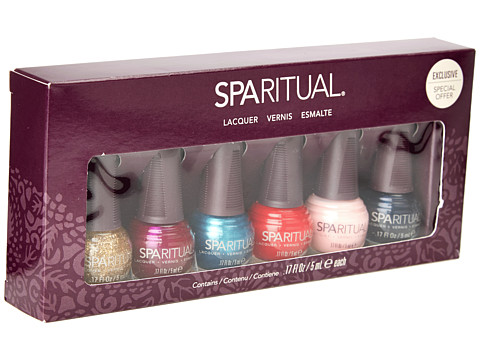 SpaRitual - Home Mini 6 Polish Collection (Hot Blooded/Golden Rule/Air Head/Drop Dead Gorgeous/Crystal Wate) Fragrance