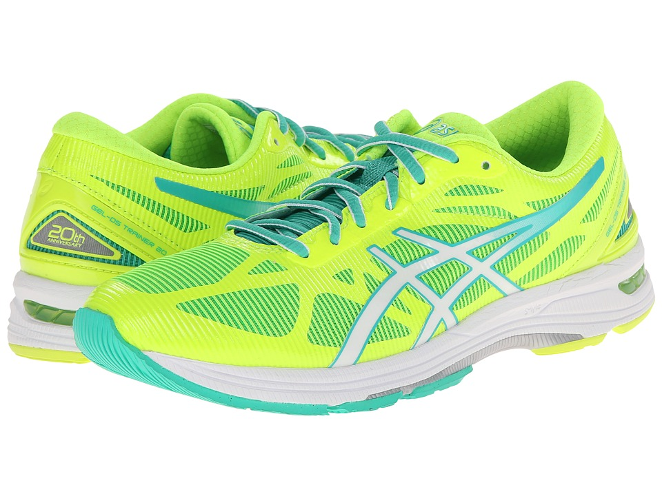 ASICS - GEL-DS Trainer 20 (Flash Yellow/White/Mint) Women's Running Shoes