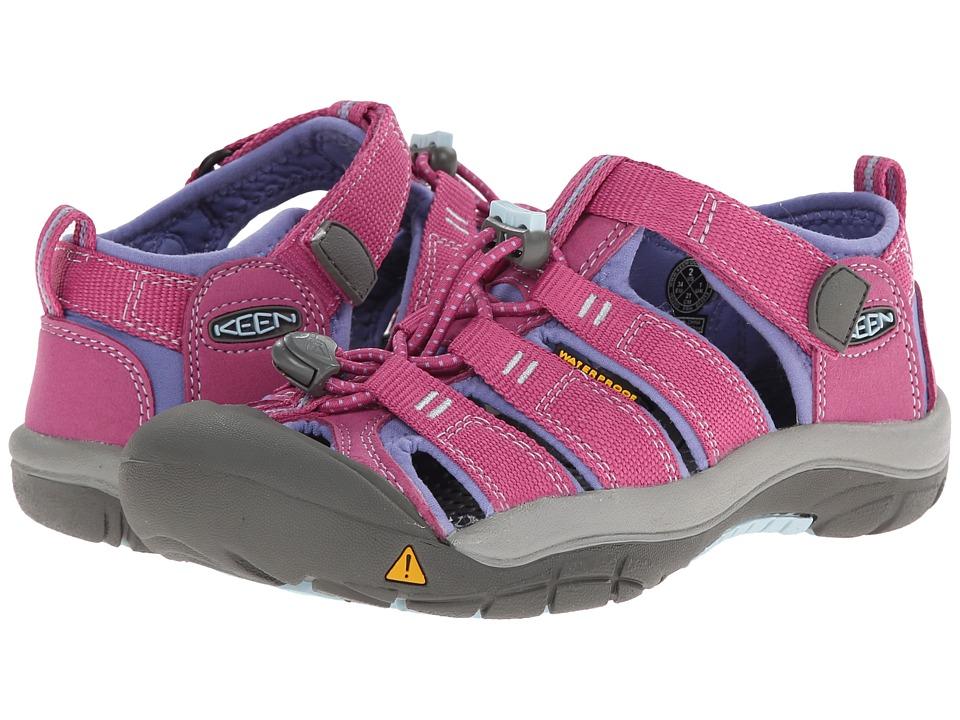 Keen Kids - Newport H2 (Little Kid/Big Kid) (Dahlia Mauve/Periwinkle) Girls Shoes
