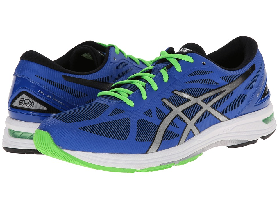 ASICS - GEL-DS Trainer 20 (Blue/Silver/Black) Men's Running Shoes