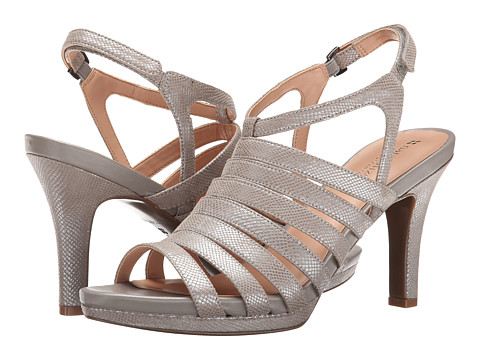 Naturalizer - Nolana (High Tech Grey Printed Iguana Fabric) High Heels