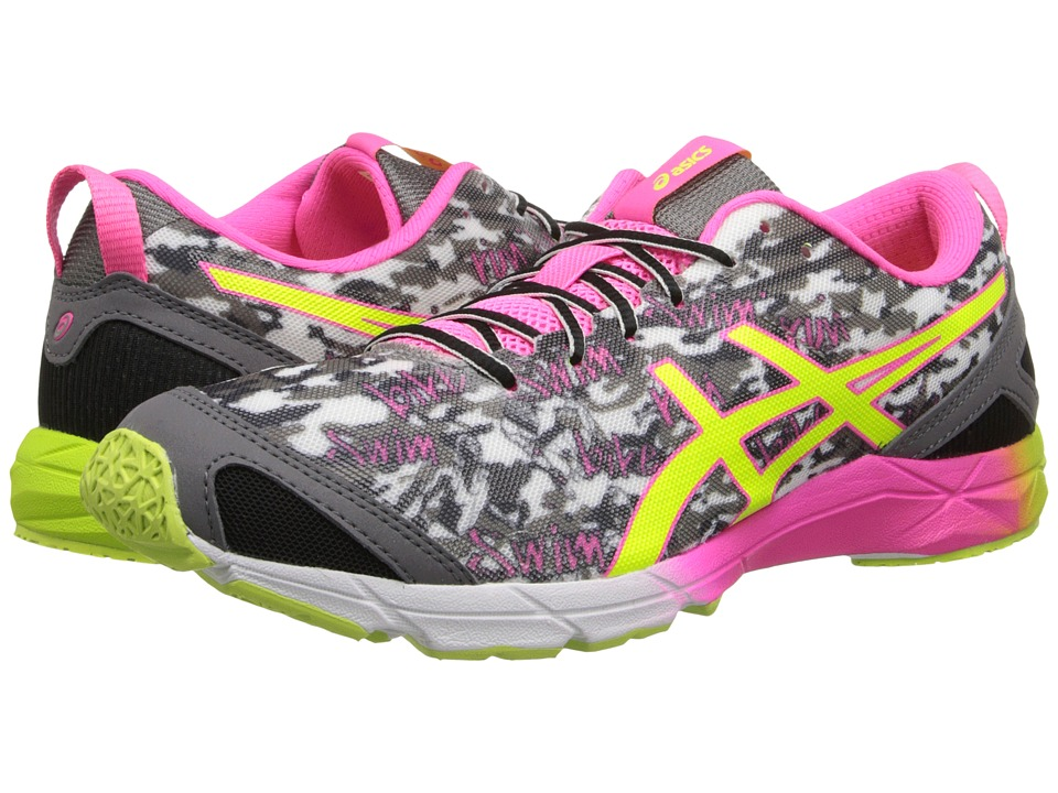 ASICS - GEL-Hyper Tri (Onyx/Flash Yellow/Flash Pink) Women's Running Shoes