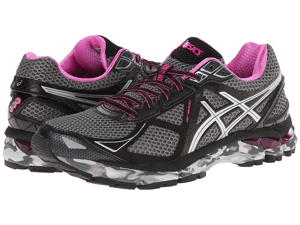 ASICS - GT-2000 3 Trail (Charcoal/Lightning/Hot Pink) Women