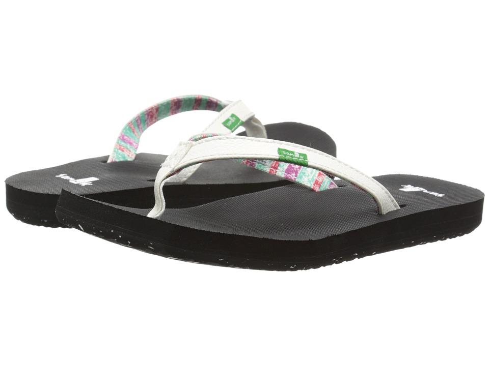 Sanuk Kids Maritime 2 (Toddler/Little Kid) (White) Girls Shoes