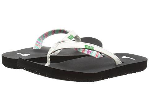 Sanuk Kids - Maritime 2 (Toddler/Little Kid) (White) Girls Shoes