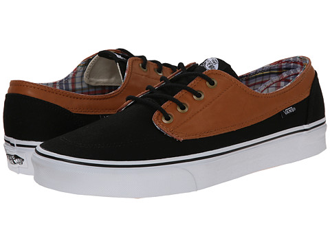 Vans - Brigata ((C&L) Black/True White) Skate Shoes