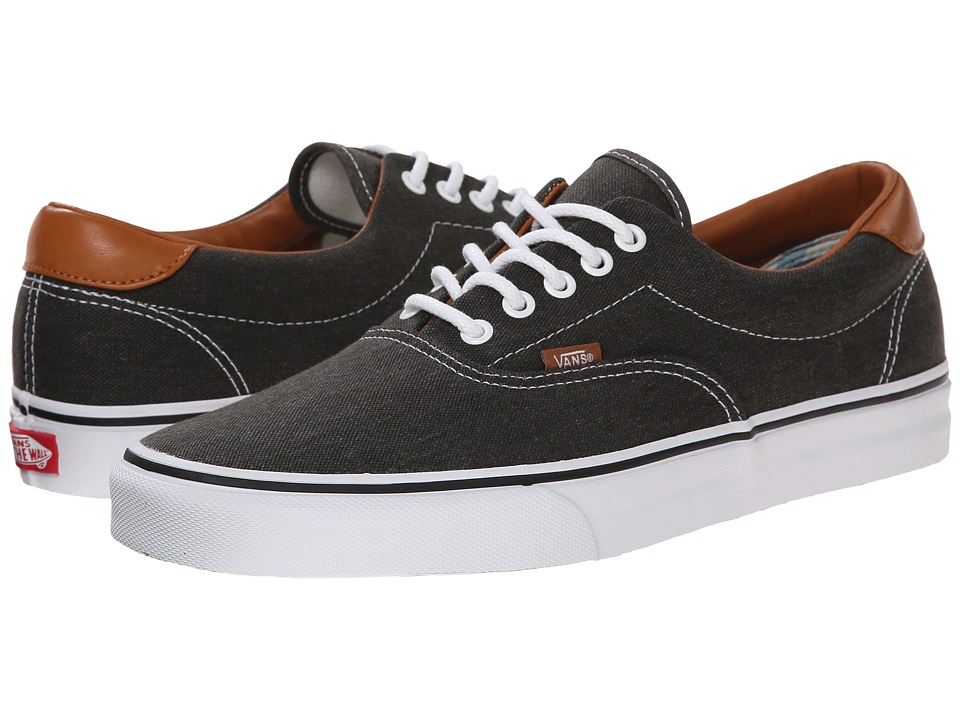 Vans - Era 59 ((Washed C&L) Black) Skate Shoes