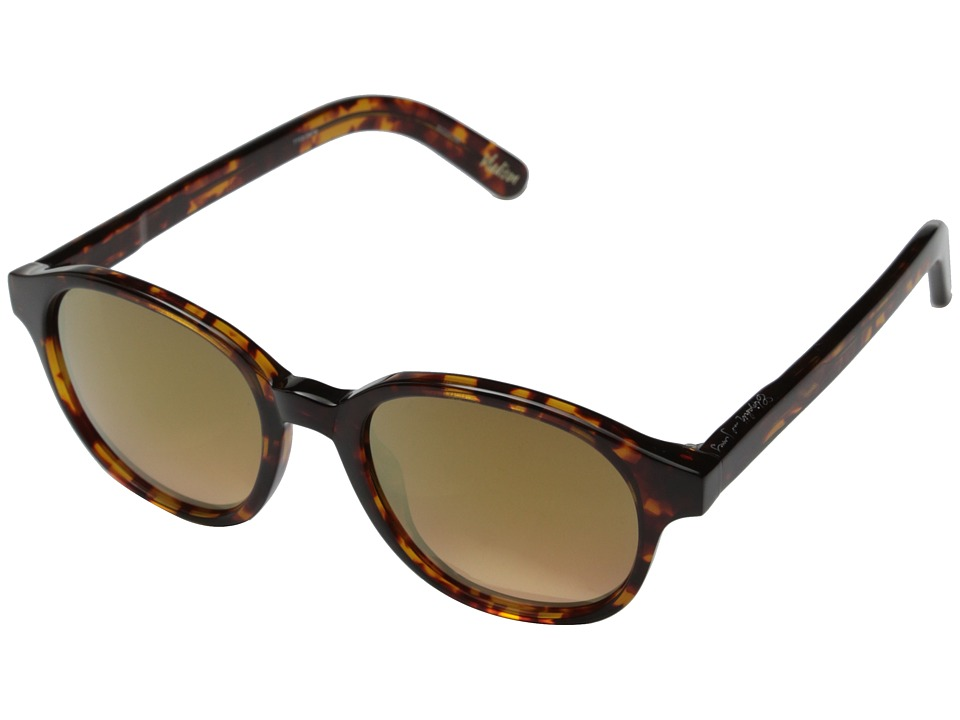 Elizabeth and James - Madison (Shiny Tortoiseshell/Smoke Pink Gold Flash Lens) Fashion Sunglasses
