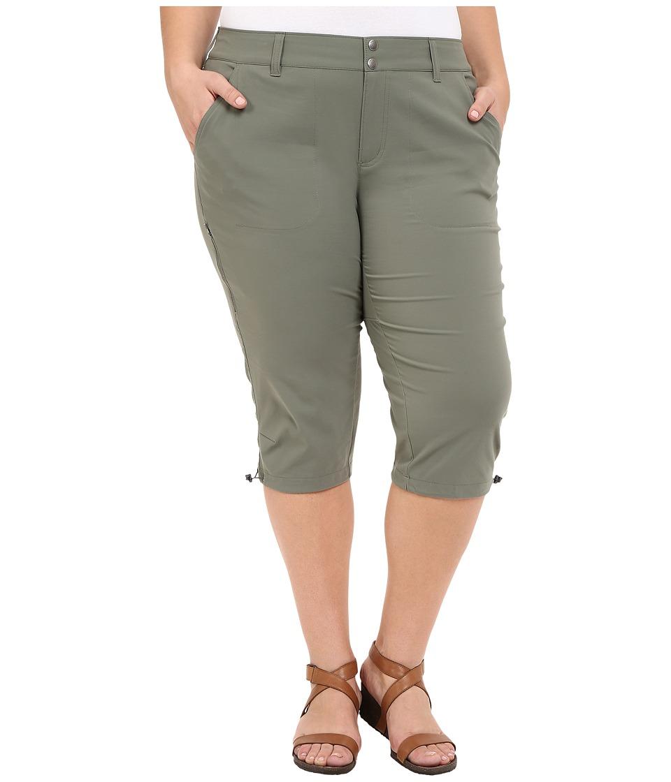 Columbia - Plus Size Saturday Trailtm II Knee Pant (Cypress) Women's Capri
