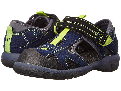 Umi Kids - Mac (Toddler/Little Kid) (Navy Multi) Boy's Shoes