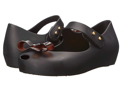 Mini Melissa - Mini Ultra Girl Bow (Toddler) (Black) Girl