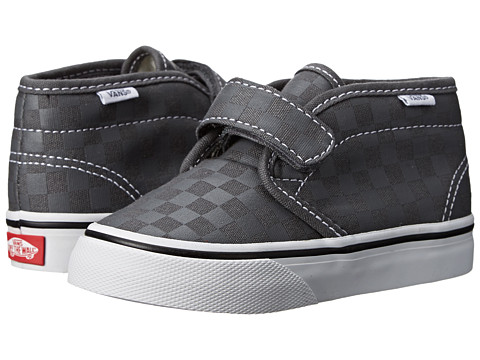 Vans Kids - Chukka V (Toddler) ((Tonal Check) Castlerock/True White) Kid