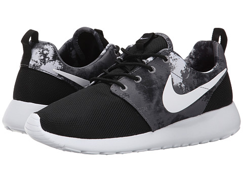Nike - Roshe Run (Black/Cool Grey) Women's Shoes