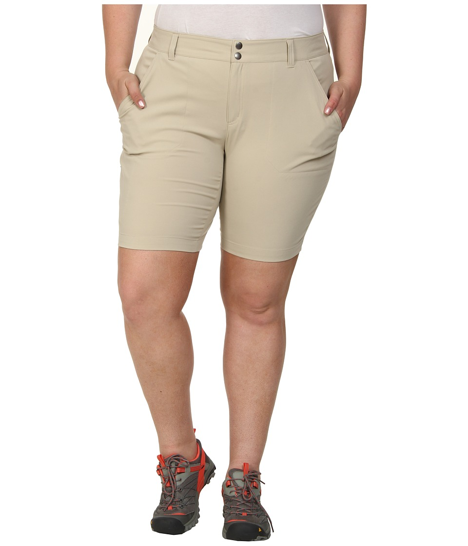 Columbia - Plus Size Saturday Trail Long Short (Fossil) Women's Shorts