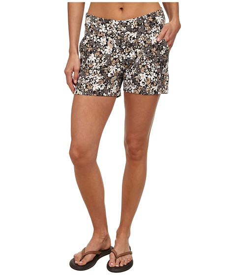 Columbia - Saturday Trail Printed Short (Fossil Print) Women's Shorts
