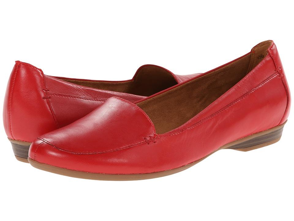 Womens Shoes Naturalizer Saban Cardinal Leather