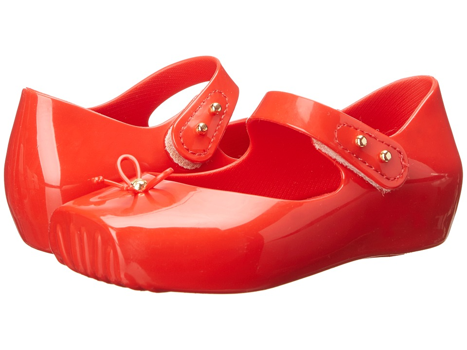 Mini Melissa - Mini Ballet (Toddler) (Red) Girls Shoes