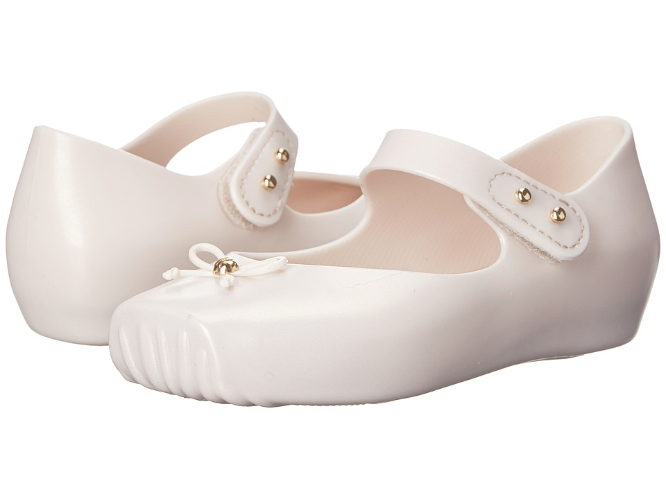 Mini Melissa - Mini Ballet (Toddler) (Beige) Girls Shoes
