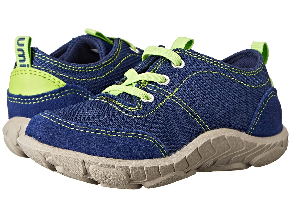 Umi Kids - Cameron (Toddler/Little Kid) (Navy Multi) Boy's Shoes