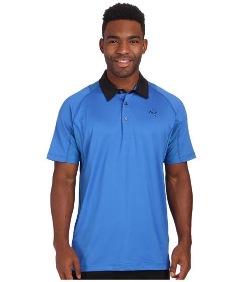 PUMA Golf - Titan Tour Polo (Strong Blue) Men