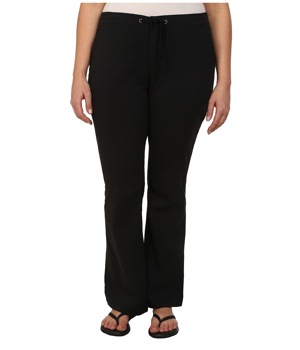 Columbia - Plus Size Anytime Outdoor Boot Cut Pant (Black) Women's Casual Pants