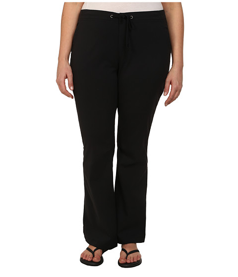 Columbia - Plus Size Anytime Outdoor Boot Cut Pant (Black) Women