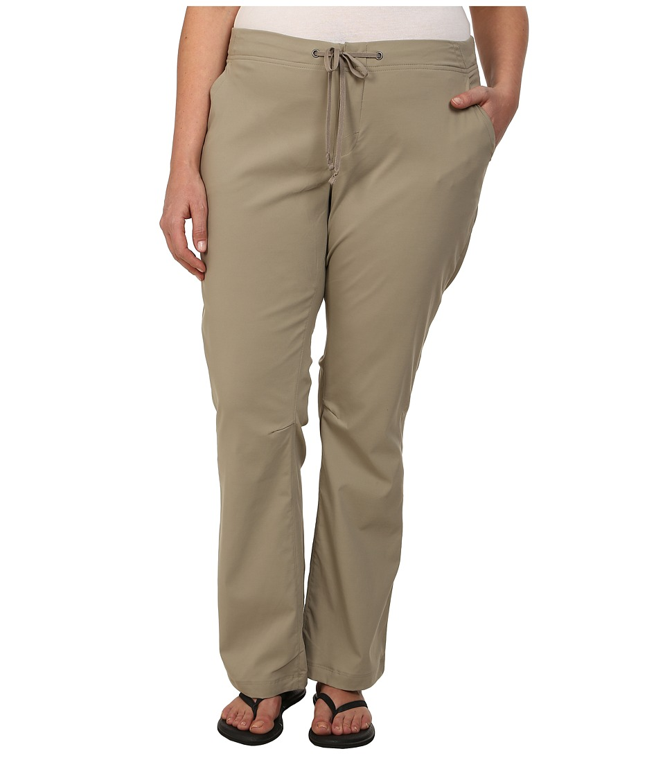 Columbia - Plus Size Anytime Outdoor Boot Cut Pant (Tusk) Women's Casual Pants