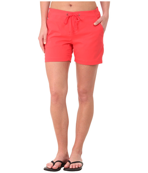 Columbia - Anytime Outdoor Short (Red Hibiscus) Women's Shorts