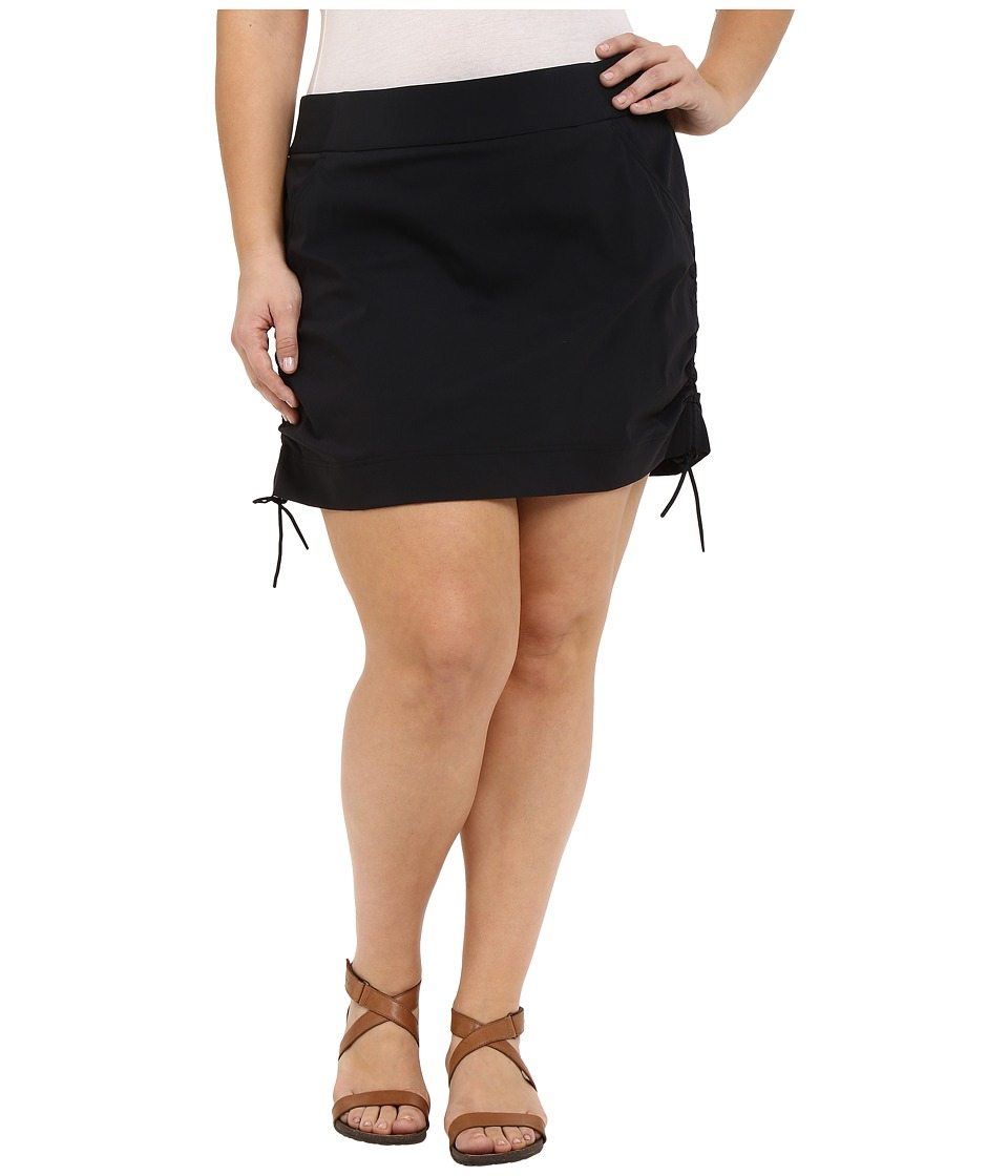 Columbia - Plus Size Anytime Casual Skort (Black) Women's Skort