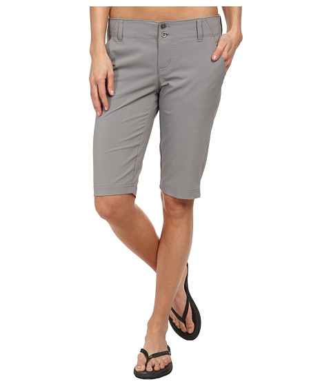 Columbia - Take Me Anywhere Long Short (Light Grey) Women's Shorts