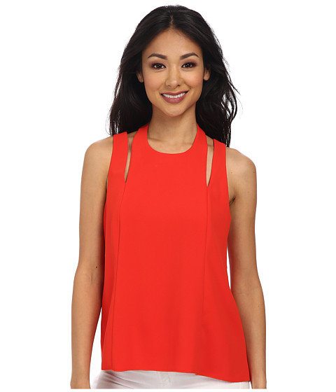Trina Turk - Brenna Halter Top (Poppy) Women's Sleeveless