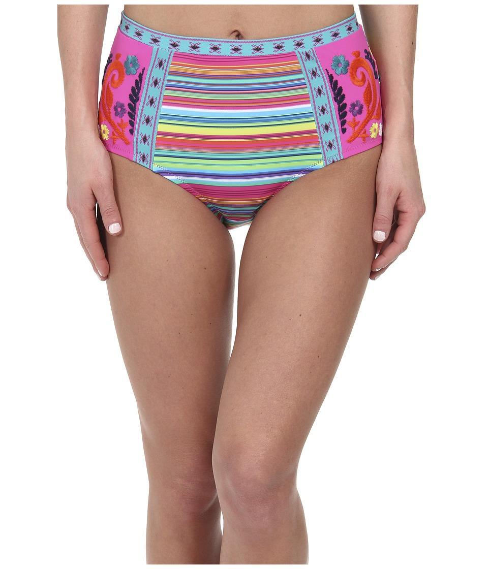 Nanette Lepore - Flora Fiesta Pin-up Bottom (Multi) Women's Swimwear
