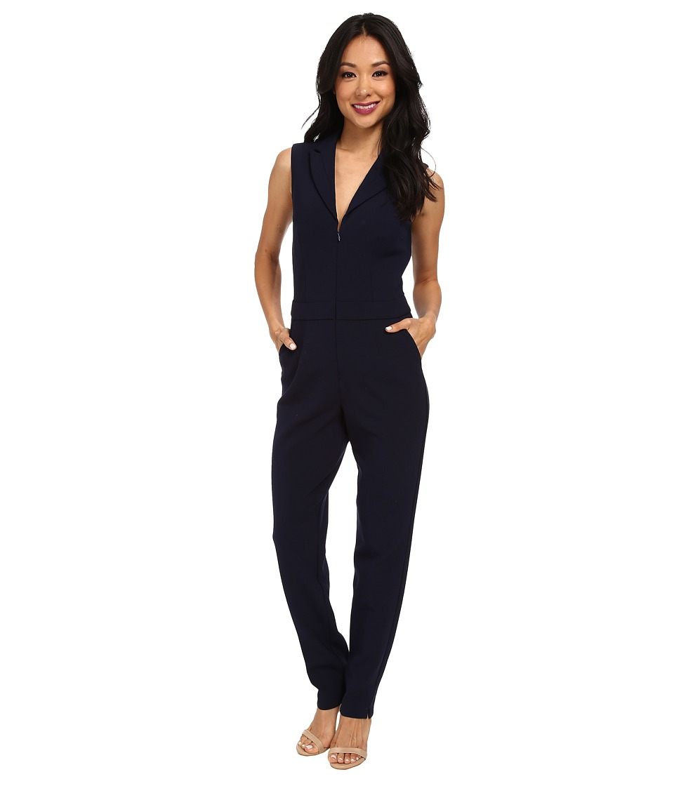 Trina Turk - Emmalyn Jumpsuit (Indigo) Women's Jumpsuit & Rompers One Piece