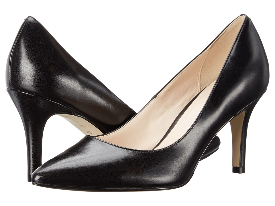 Cole Haan - Juliana Pump 75mm (Black Leather) High Heels