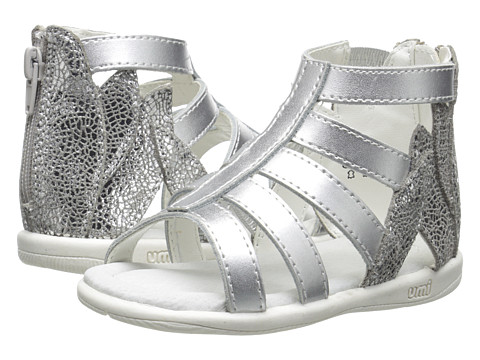 Umi Kids - Rozelle Jr (Toddler) (Silver) Girls Shoes
