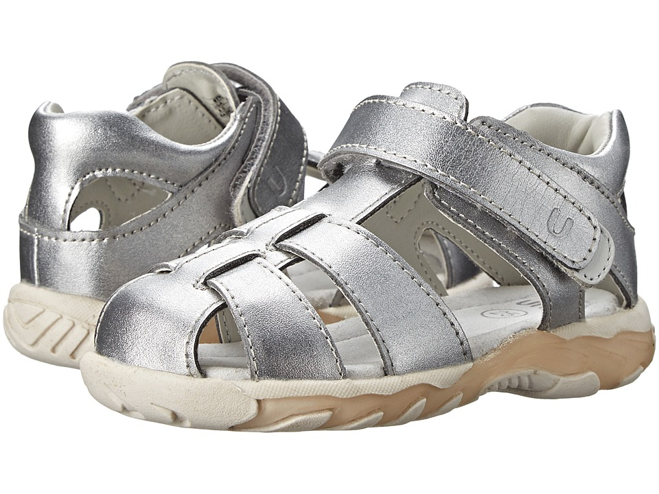 Umi Kids - Verity (Toddler) (Silver) Girl's Shoes