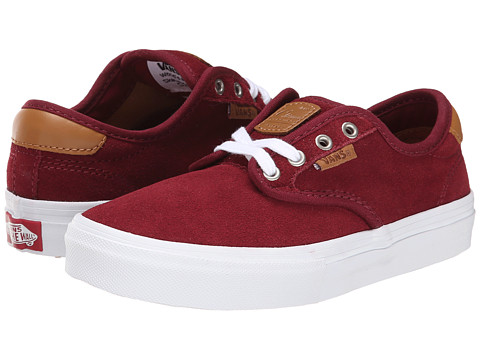 Vans Kids - Chima Ferguson Pro (Little Kid/Big Kid) (Port/White) Boys Shoes