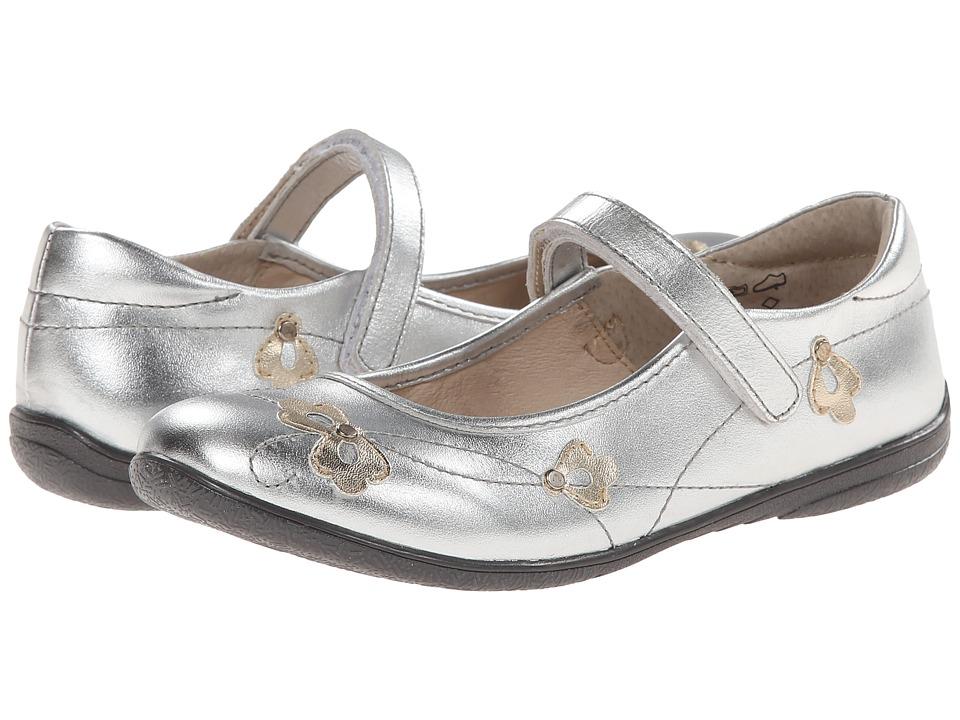 Umi Kids - Alexa (Toddler/Little Kid/Big Kid) (Silver) Girls Shoes