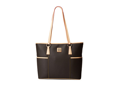 Dooney & Bourke - Carley Helena Shopper (Brown Tmoro w/ Natural Trim) Tote Handbags