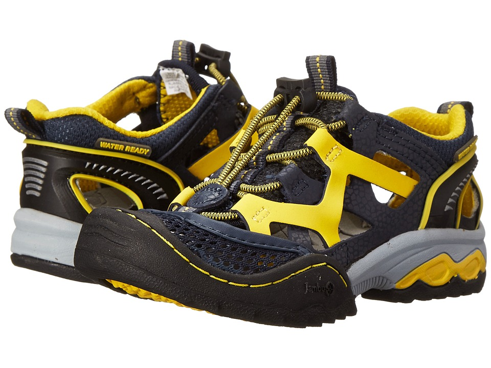 Jambu Kids - For Hanna Andersson Squamata 2H (Toddler/Little Kid/Big Kid) (Navy/Yellow) Boy's Shoes